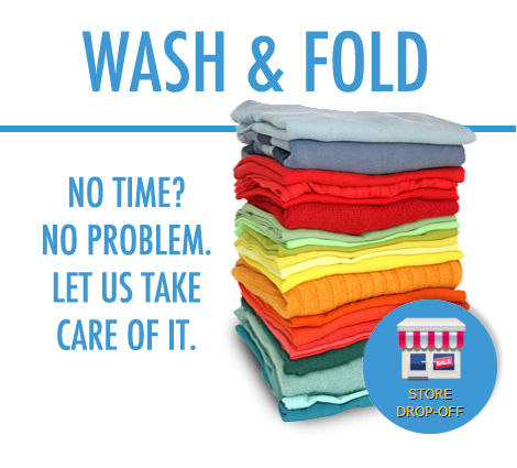 Wash & Fold Drop-Off Service